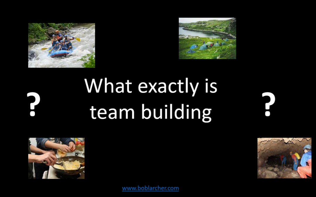 What exactly is team building?