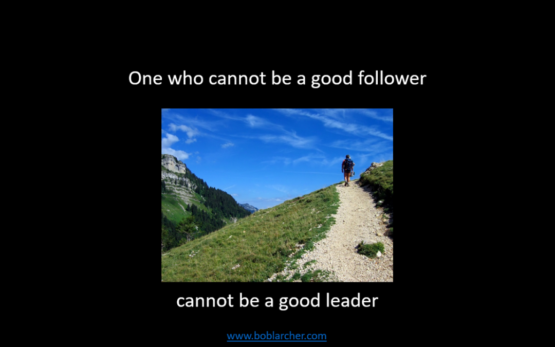 The importance of followership for leaders