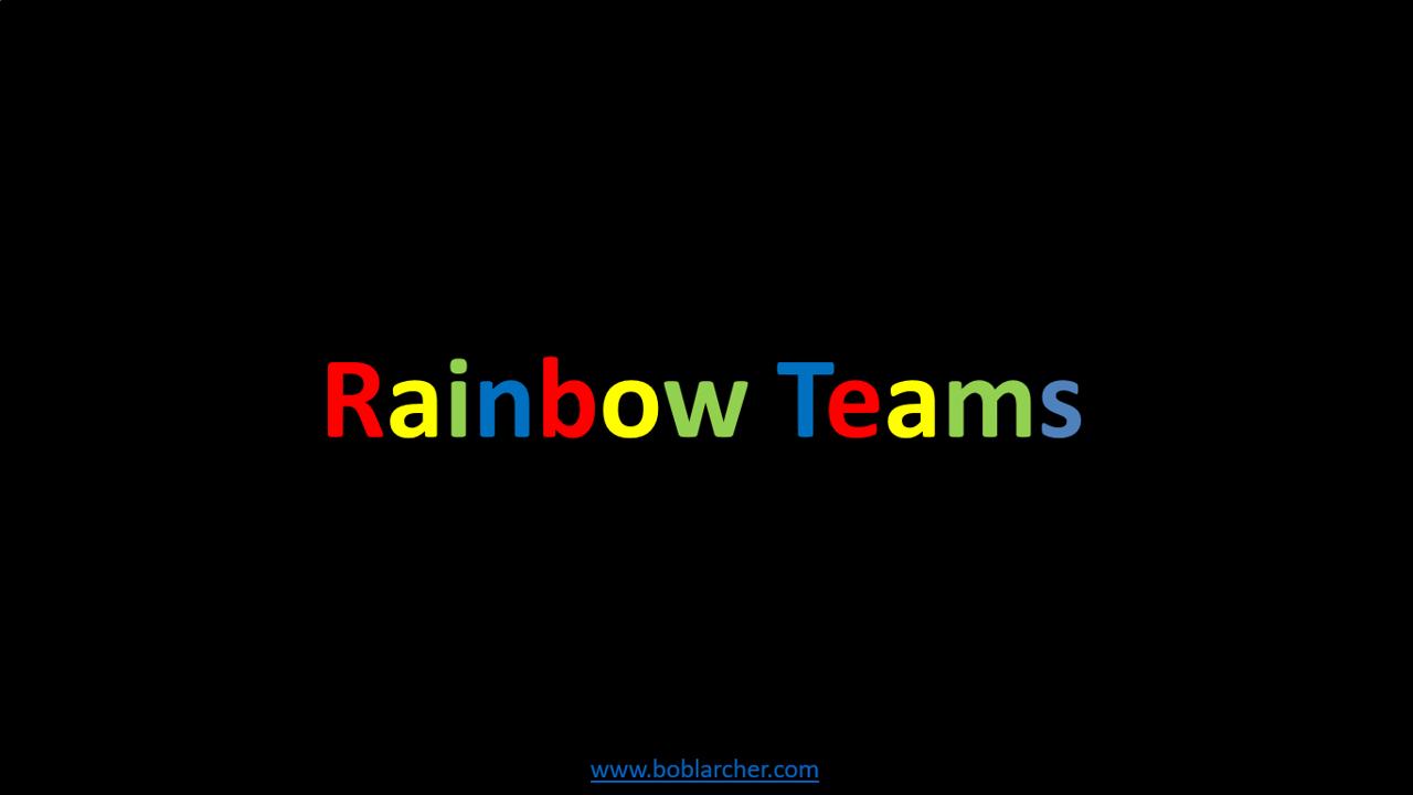 Rainbow Teams