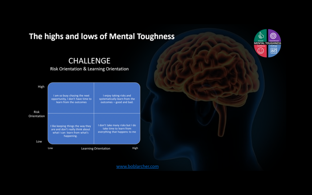 Highs & lows of Mental Toughness – Challenge