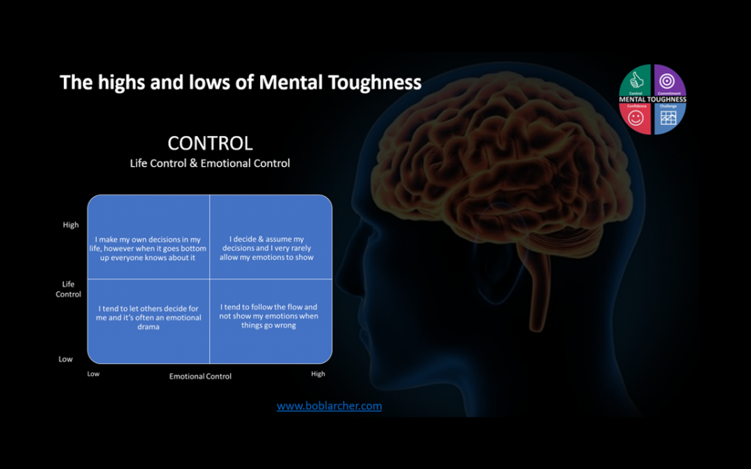 Highs & lows of Mental Toughness – Control