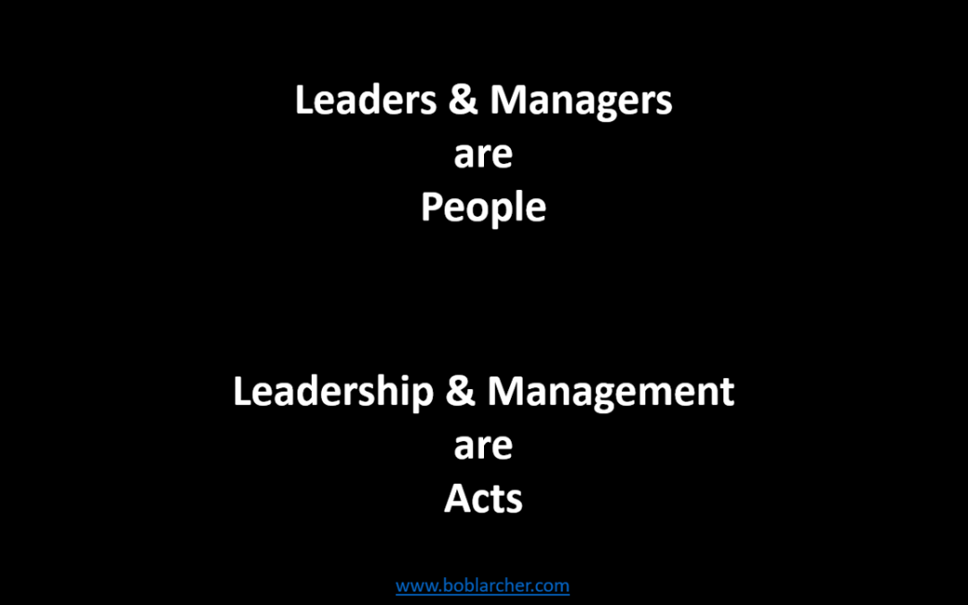 Leadership and management myths